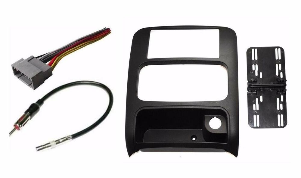 s l1000 2003 07 jeep liberty double din stereo car install bezel dash kit  at gsmportal.co