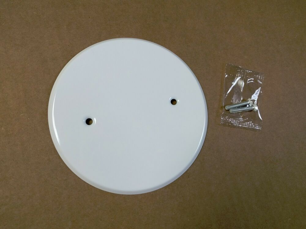 New 5 Quot Round Blank Ceiling Fan Box Cover For 3 1 2