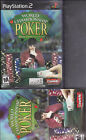 World Championship Poker Sony PlayStation 2 complete
