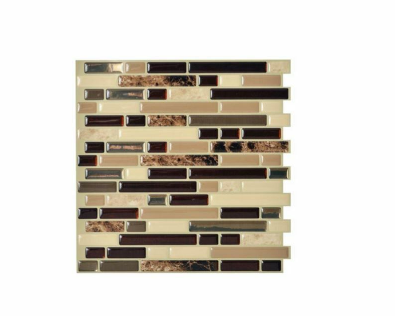 Stick On Wall Tiles: Smart Tiles Peel And Stick Mosaic Decorative Wall Tile In