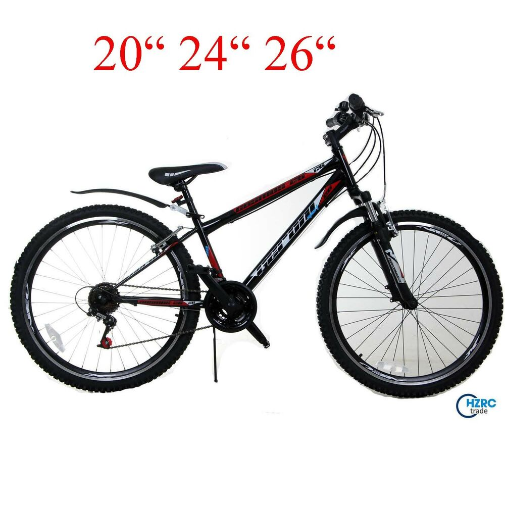 cosmos 20 24 26 zoll fahrad mountainbike mtb jungenfahrad. Black Bedroom Furniture Sets. Home Design Ideas