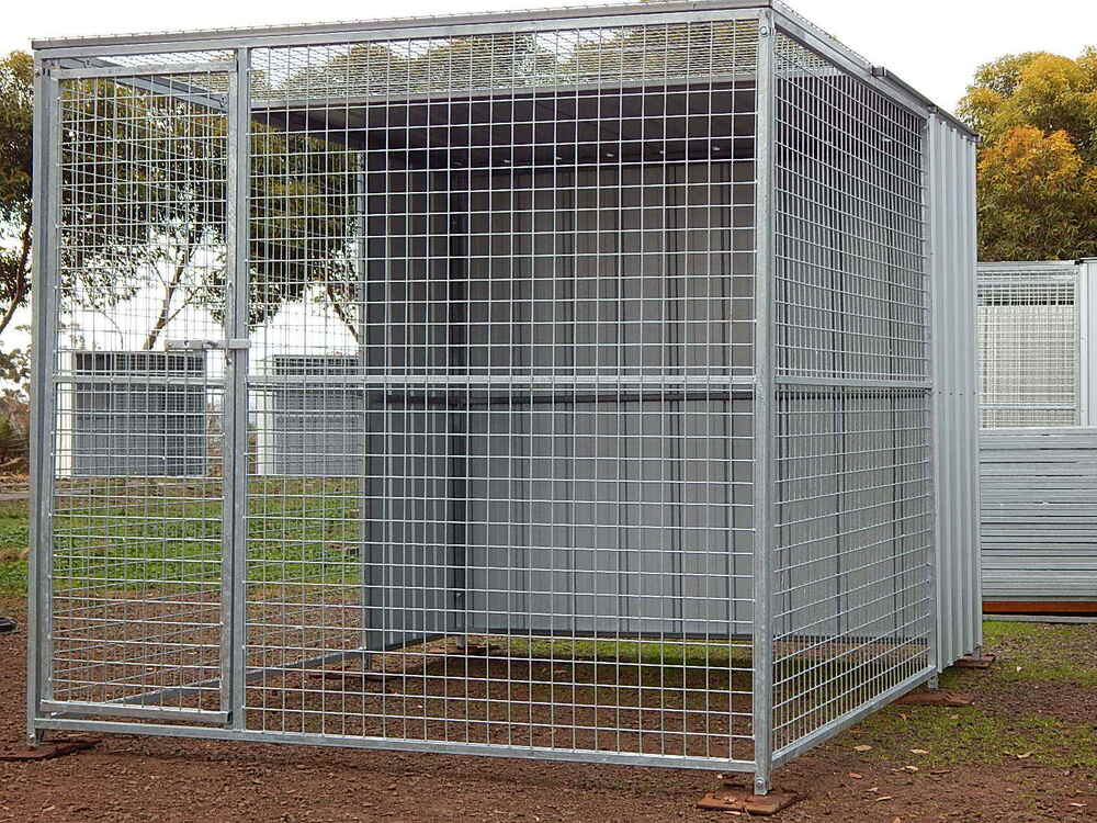 Dog runenclosurecat cage parrot aviarychicken coop for Dog run cage enclosure