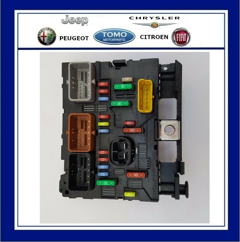 New Genuine Oe Citroen Engine Bay Fuse Box  Bsm  Fits