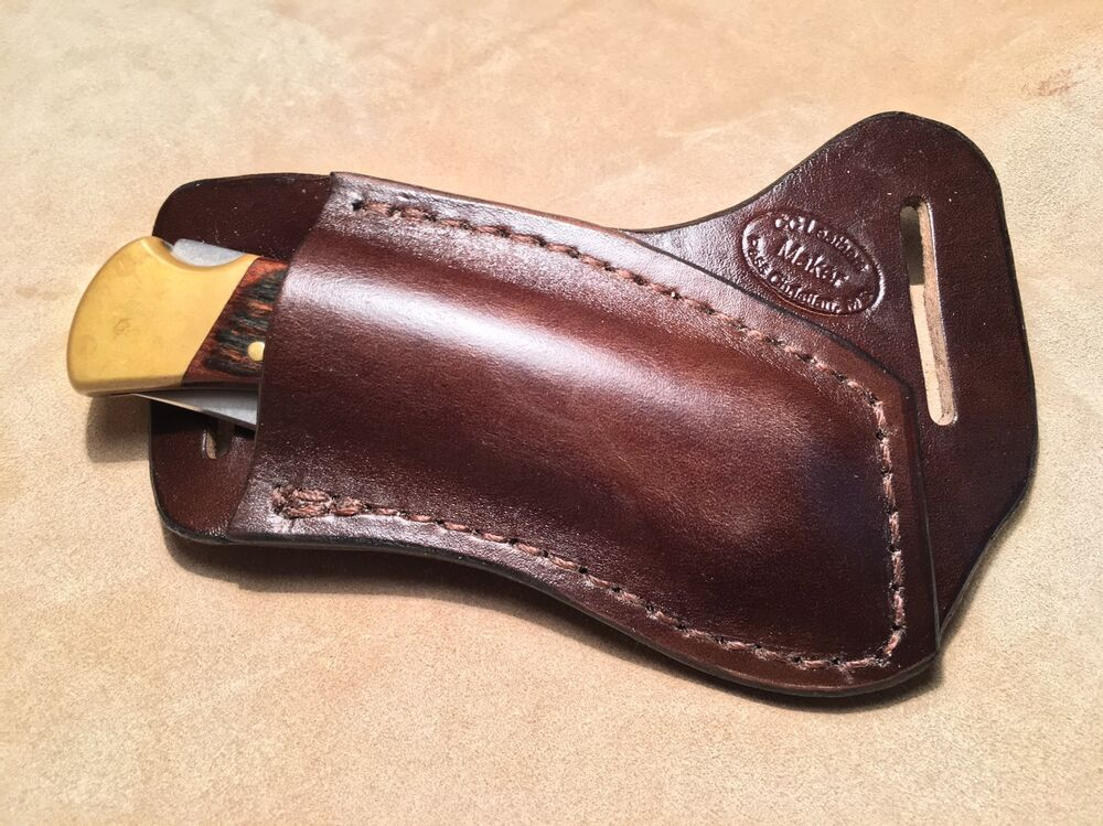 Buck 110/112 Custom Leather Crossdraw Sheath (right hand ...