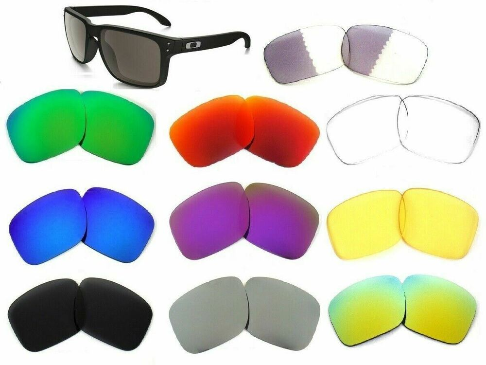 a6682cd4b8 Replacement Lenses For Oakley Holbrook Sunglasses Multi-Color By Galaxylense    eBay