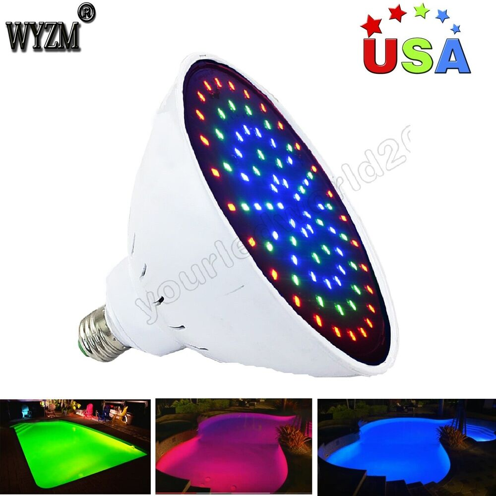 12v 35w Inground Pool Led Lights Color Changing For
