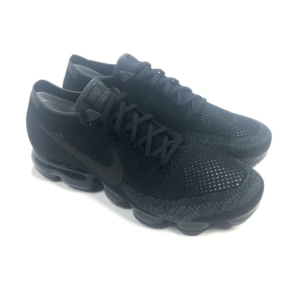 ff931236875 Details about NWT Nike Men s Triple Black Air Vapormax Flyknit NikeLab  Sneakers 14 AUTHENTIC
