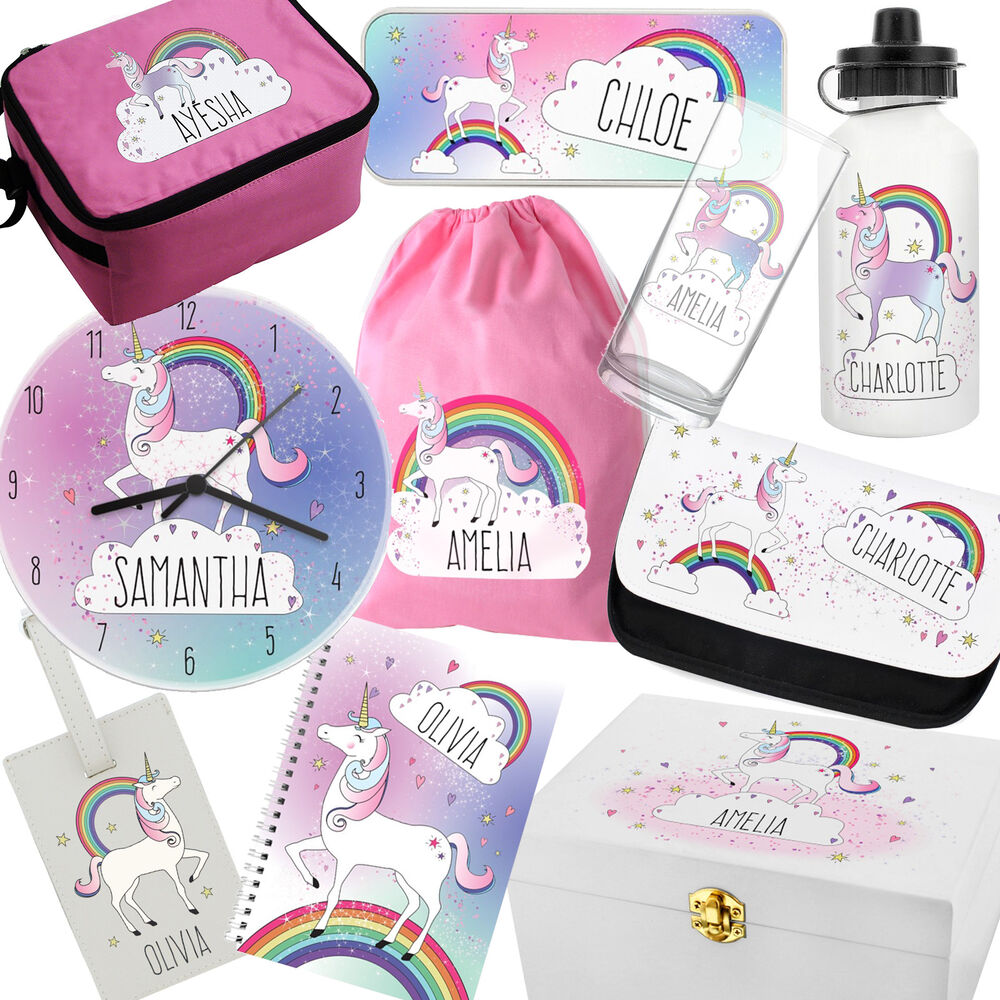 PERSONALISED Unicorn Gifts For GIRLS Birthday Present