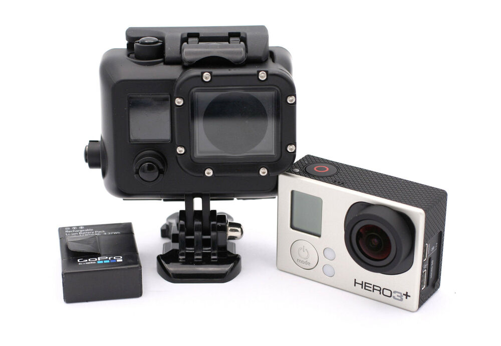 gopro hero 3 silver edition camcorder with waterproof. Black Bedroom Furniture Sets. Home Design Ideas
