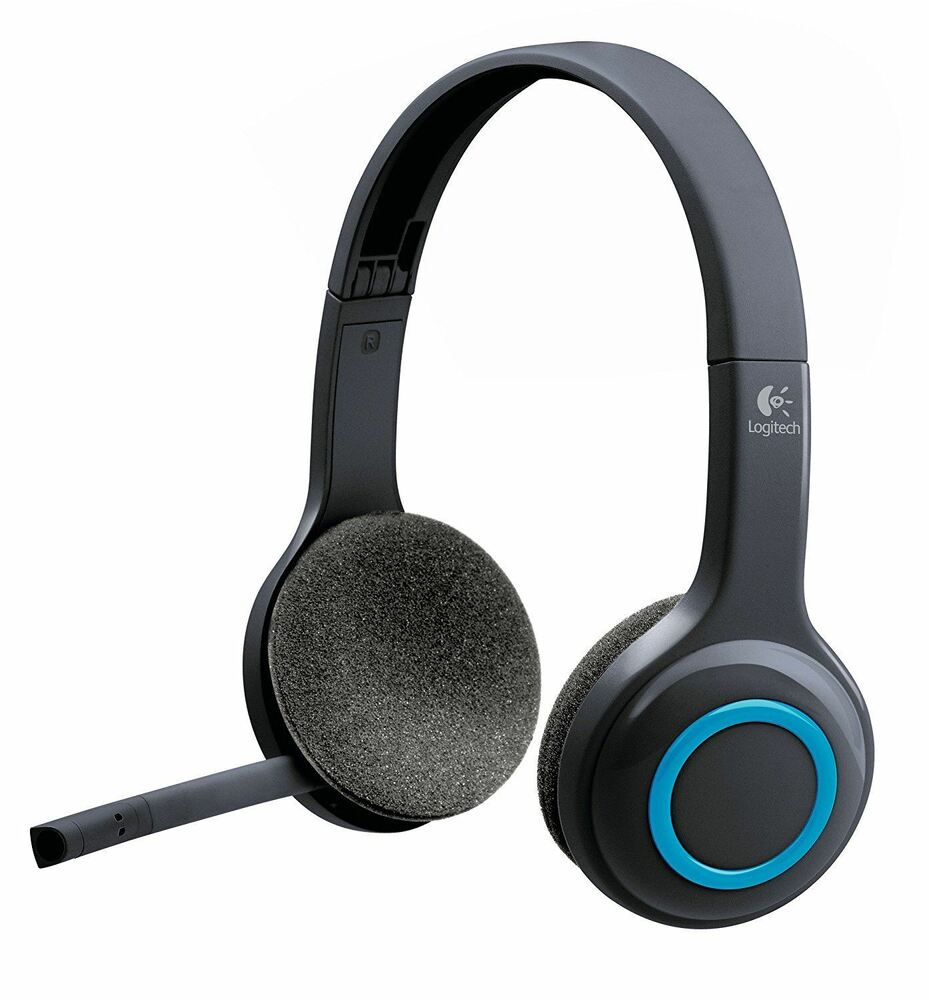 Logitech H600 Wireless PC Headset Headband Range Up To 10m 981-000342  e35445be5194