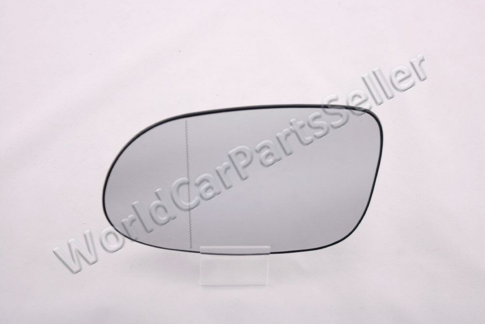 Heated aspherical left side mirror glass fits mercedes clk for Mercedes benz c300 side mirror glass