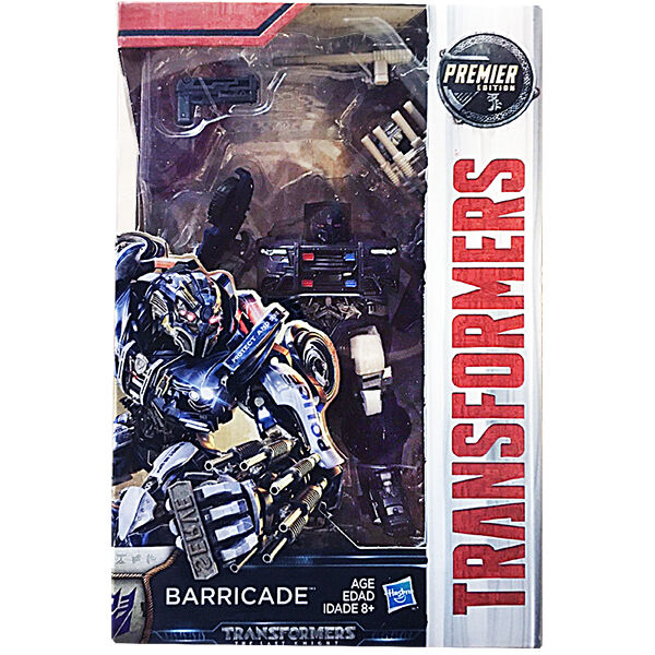 100 hasbro transformers mv5 the last knight deluxe barricade in stock ebay. Black Bedroom Furniture Sets. Home Design Ideas
