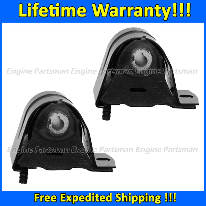 k1934 motor trans mount 2pc set for 1997 2006 jeep tj wrangler 2 4l 2 5l 4 0l ebay. Black Bedroom Furniture Sets. Home Design Ideas