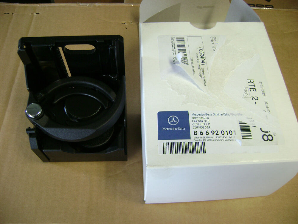 Oem mercedes benz e class w210 s210 replacement cup holder for Mercedes benz cup