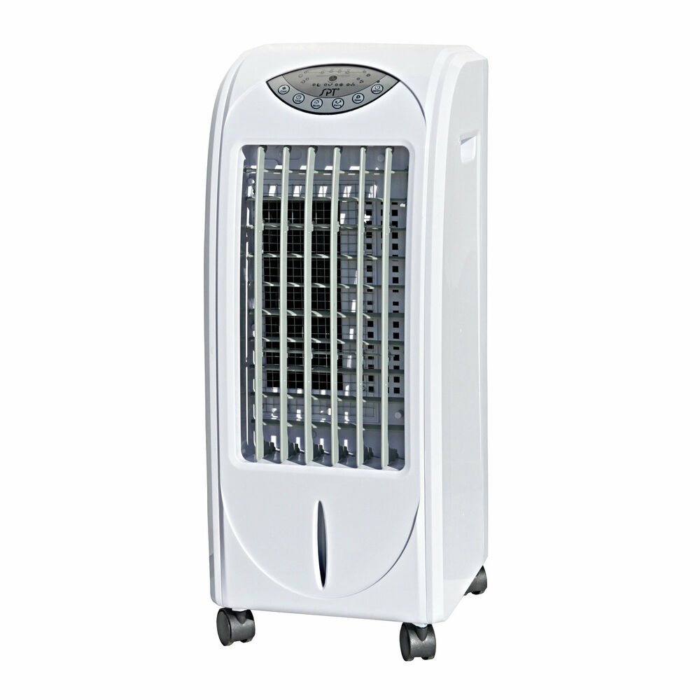portable room air cooler conditioner indoor fan humidifier conditioning units ebay. Black Bedroom Furniture Sets. Home Design Ideas