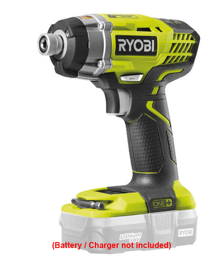 ryobi one plus 18v li ion impact driver bare tool new vat receipt inc ebay. Black Bedroom Furniture Sets. Home Design Ideas