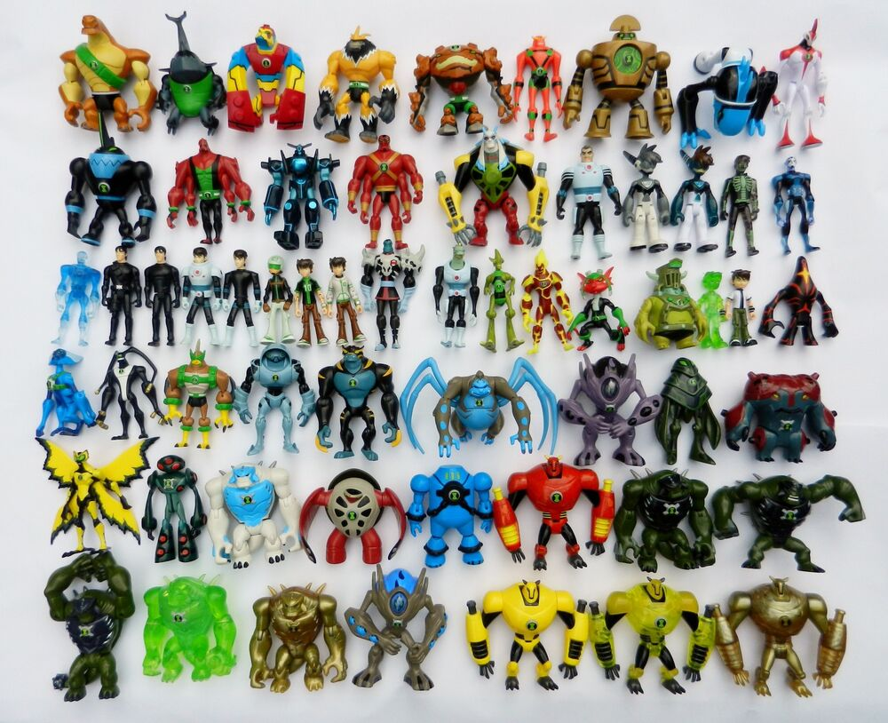 Ben 10 Action Figures 10cm CHOICE Of 220 OmniverseHaywire