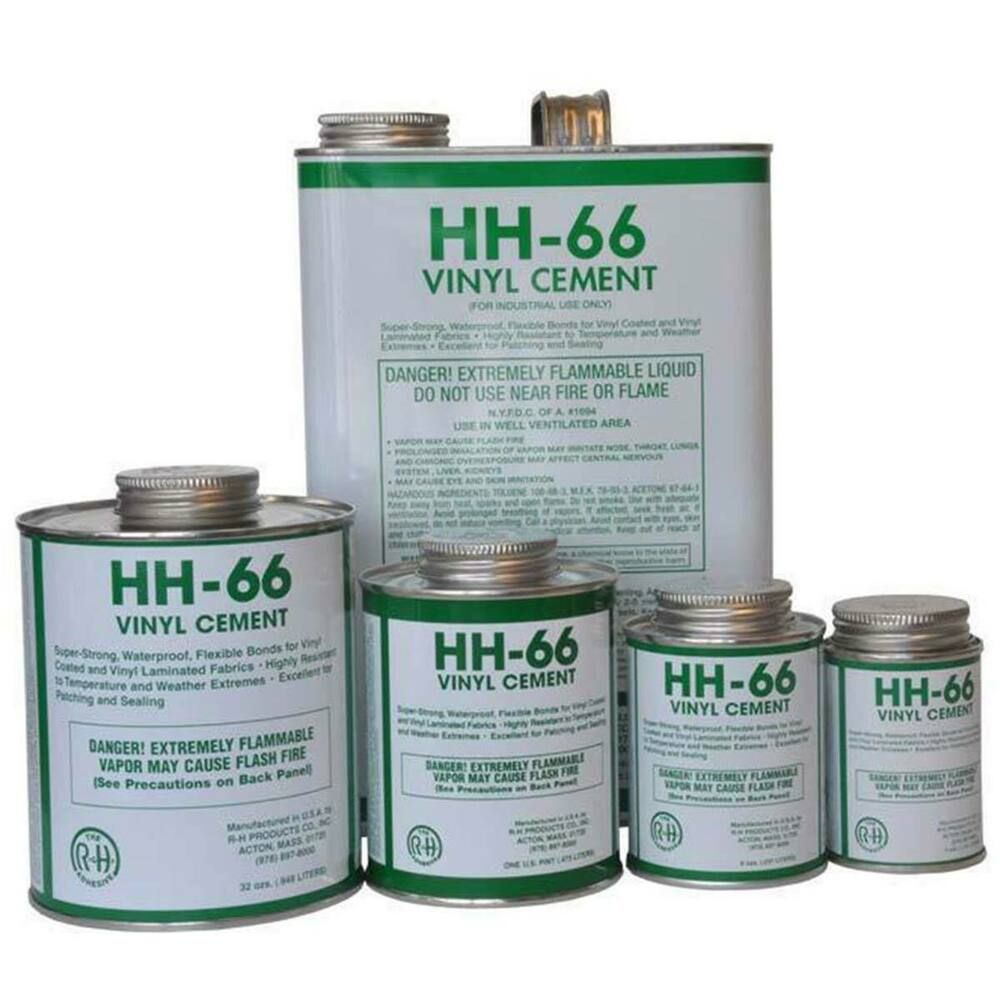 Hh 66 Vinyl Cement Adhesive Repair Glue Tent Pool Liner