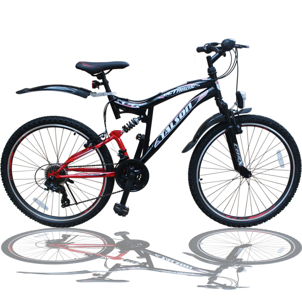 26 zoll mountainbike shimano 21gang 26 fahrrad schwarzrot. Black Bedroom Furniture Sets. Home Design Ideas