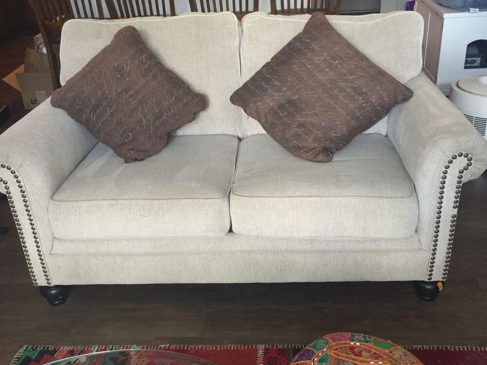 furniture sofa set love seat and couch home furnishing by ashley furniture ebay. Black Bedroom Furniture Sets. Home Design Ideas