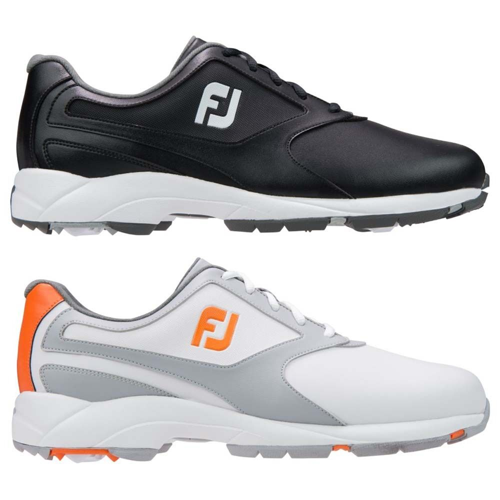 Mens FootJoy Athletics Spikeless Closeout Golf Shoes ...