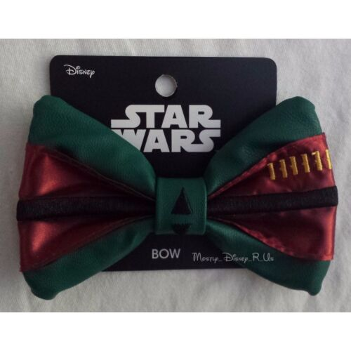 new-disney-star-wars-boba-fett-cosplay-costume-hair-bow-pin