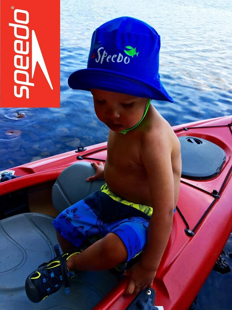 0a8b305b060 Speedo Toddler Bucket Hat UV 50+ Chin Strap