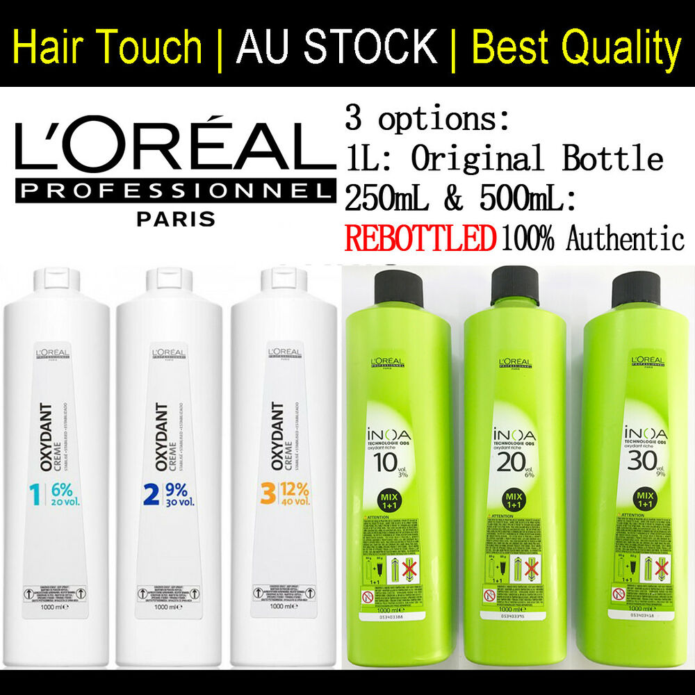 Loral hair colouring products ebay loreal oxydant creme inoa oxydant riche creme developer 250ml 500ml 1l nvjuhfo Images