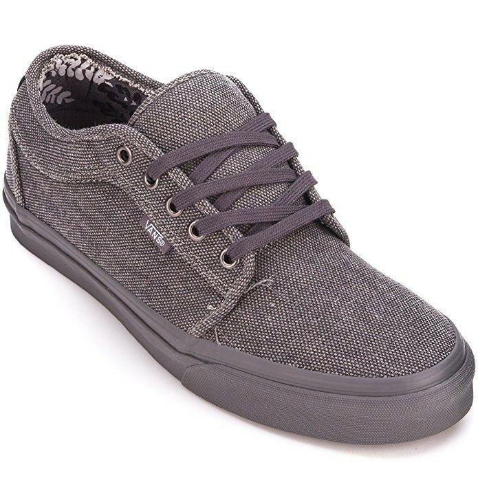 fd5d0eb584a110 Details about VANS Chukka Low (Distressed Textile) SMOKEOUT Grey Classic  MEN S 7 WOMEN S 8.5
