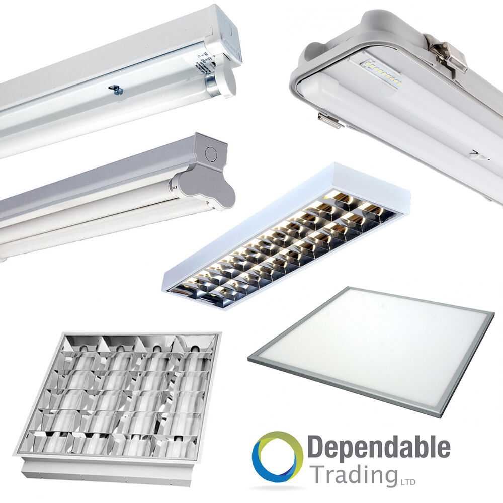 OFFICE LIGHTING LED OR FLUORESCENT SURFACE / RECESSED