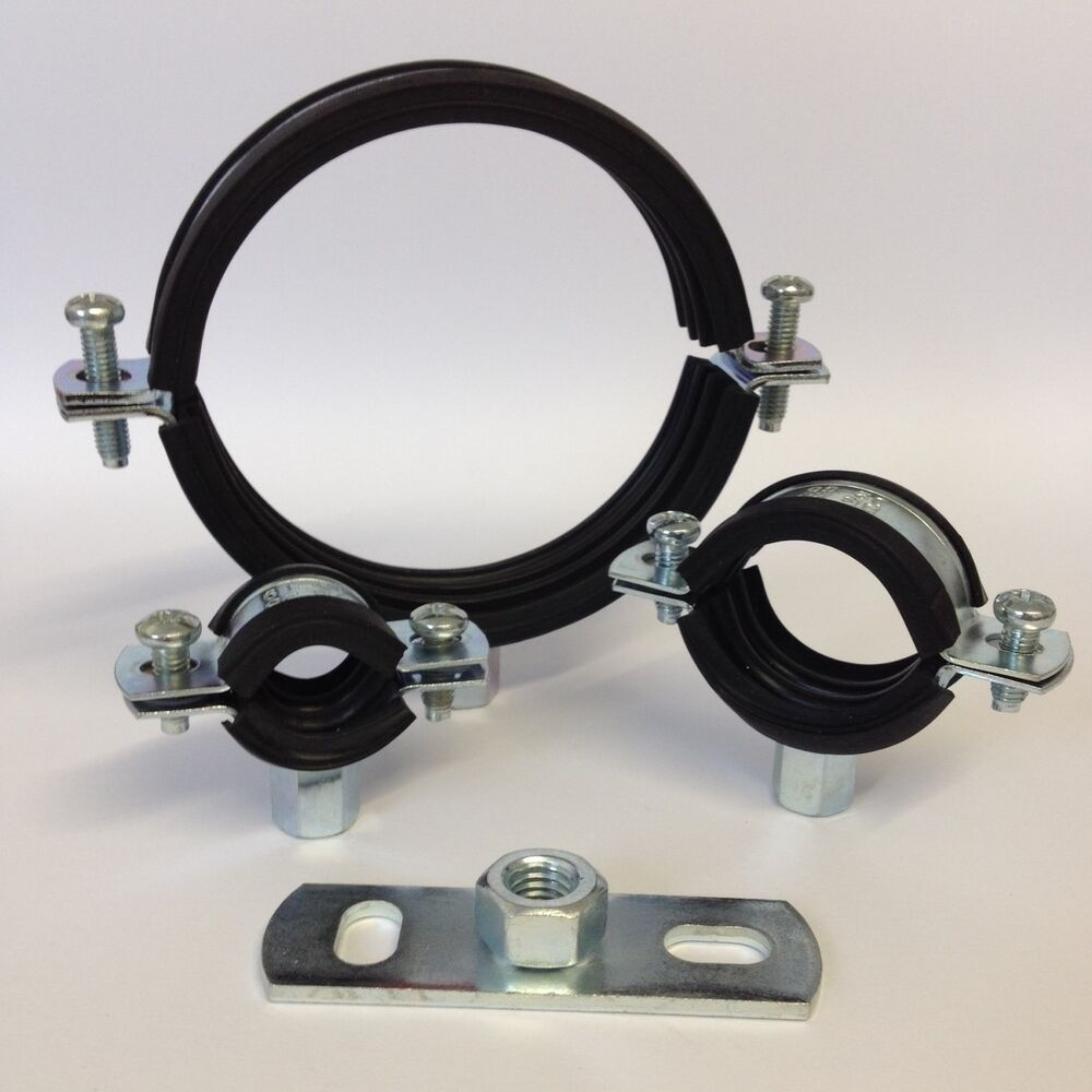 Rubber lined munsen rings optional backplate pipe