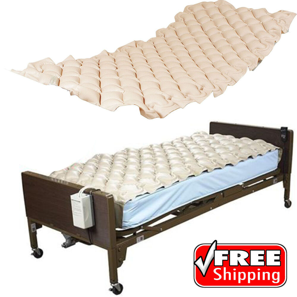 Med Aire Mattress Alternating Air Pressure Pad Bed Overlay ...