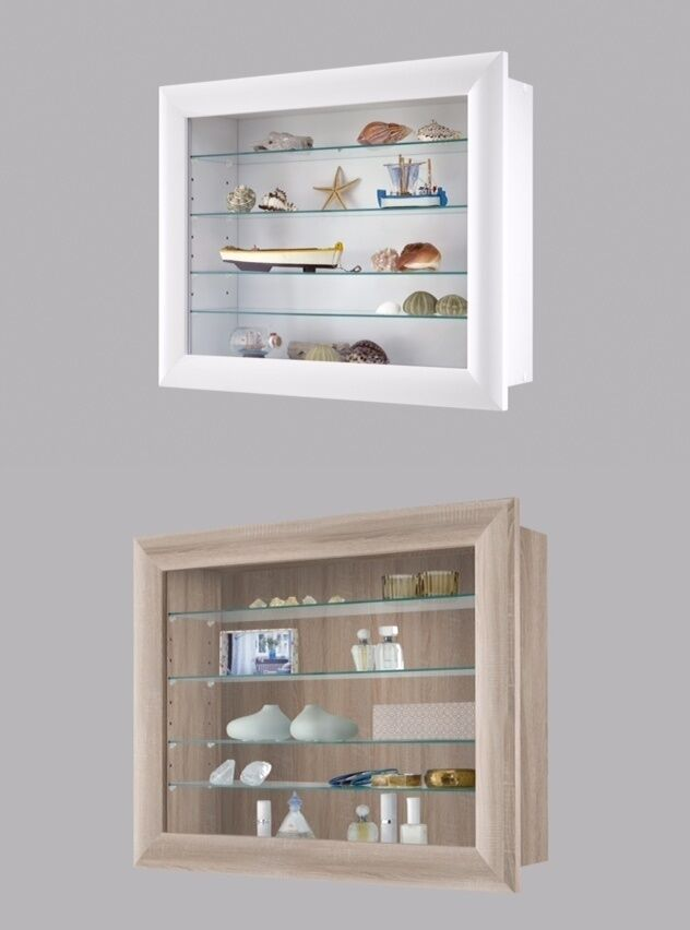 wall storage cabinet bora10 wall mounted glass amp wood display cabinet shelving 28106