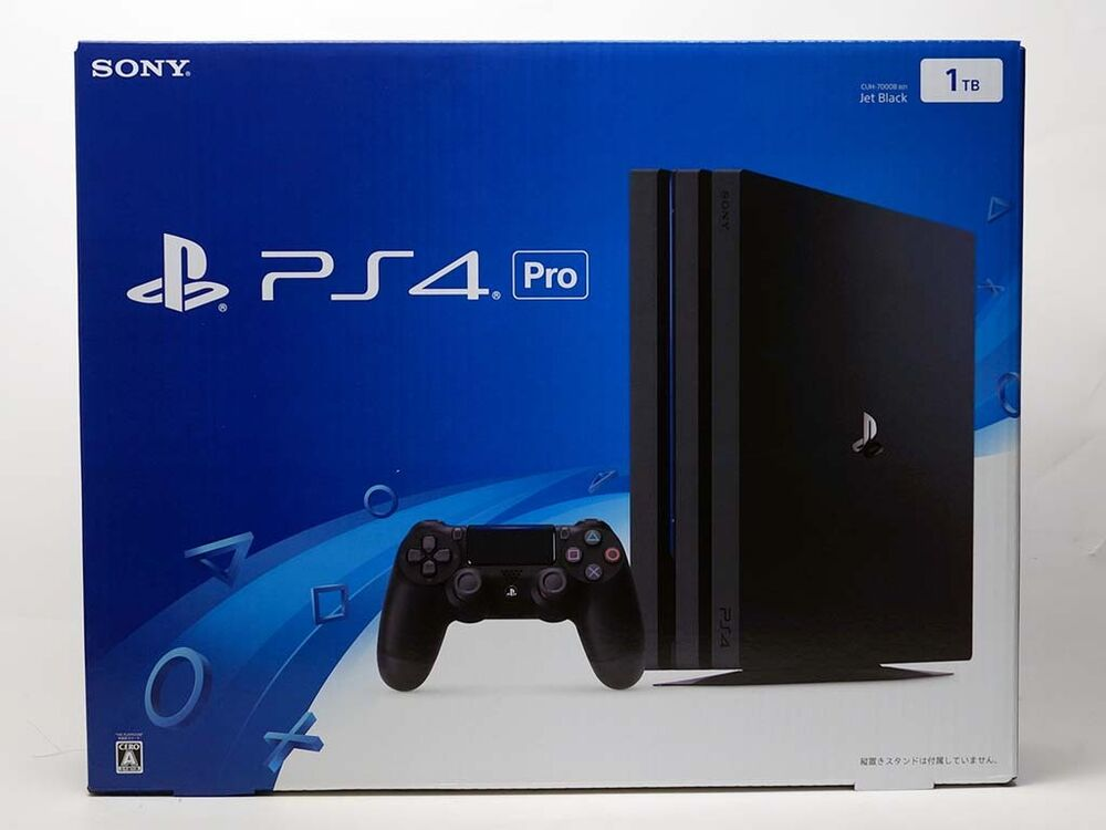 NEW SONY Playstation 4(PS4) Pro GAME CONSOLE JET BLACK 1TB CUH-7100BB01 | eBay