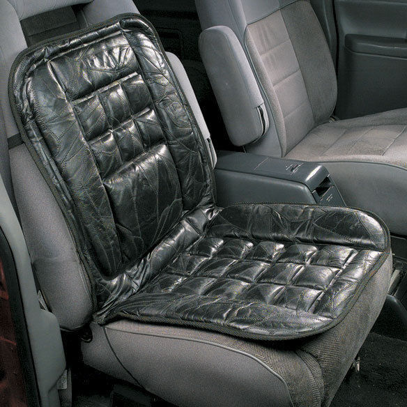 leather car taxi orthopaedic back support chair massage front seat cushion cover ebay. Black Bedroom Furniture Sets. Home Design Ideas