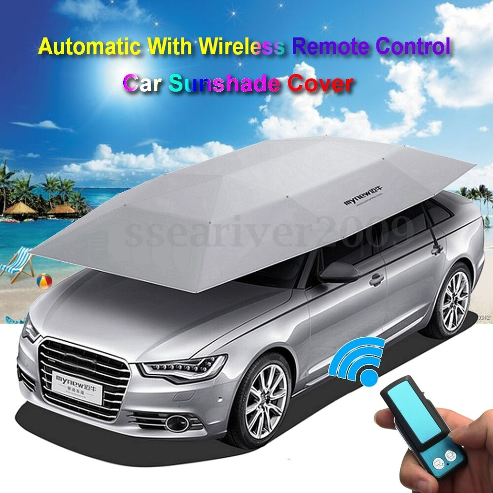 Automatic Removable Portable Car Sun Shade Cover Tent ...