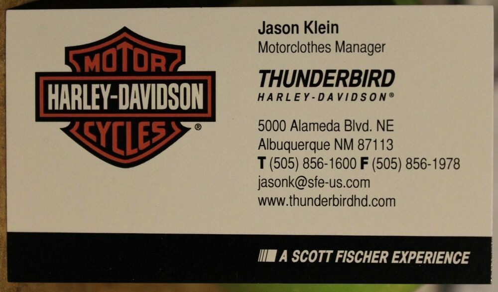 Motorcycle Business Cards Harley Davidson | Best Business Cards