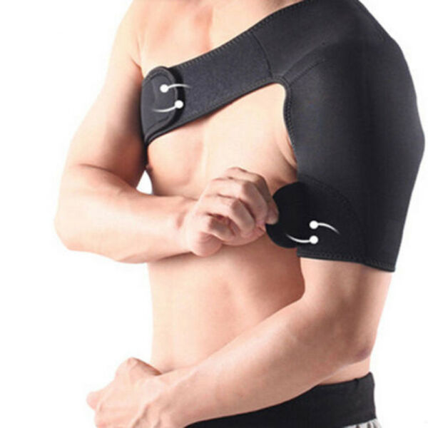 Adjustable Shoulder Brace Rotator Cuff Support for Injury Prevention Dislocate