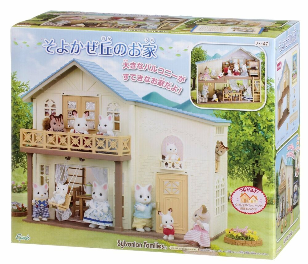 Sylvanian Families House Of Breeze Hill Epoch Calico