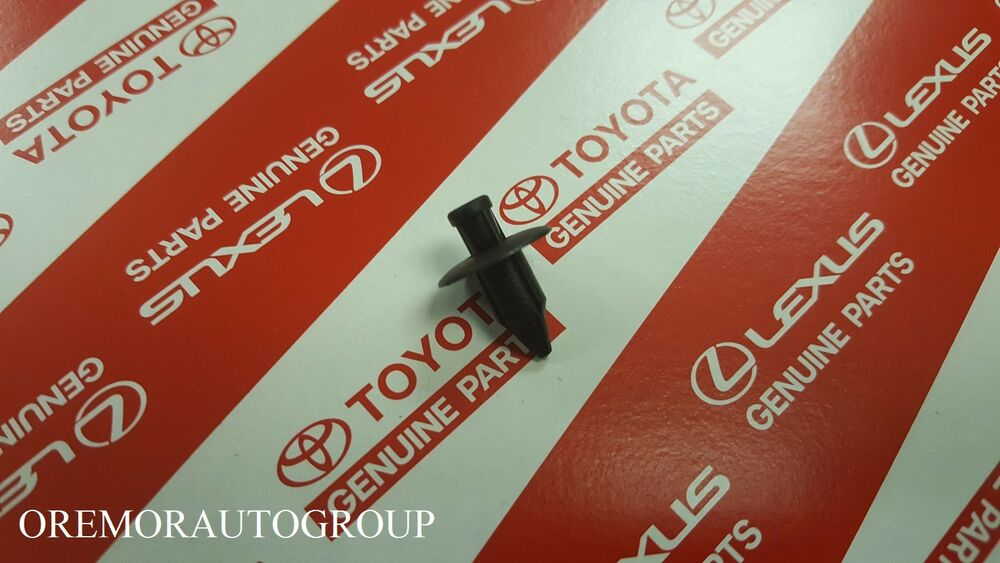 details about toyota oem front door-door trim panel clip 90467a0016c0