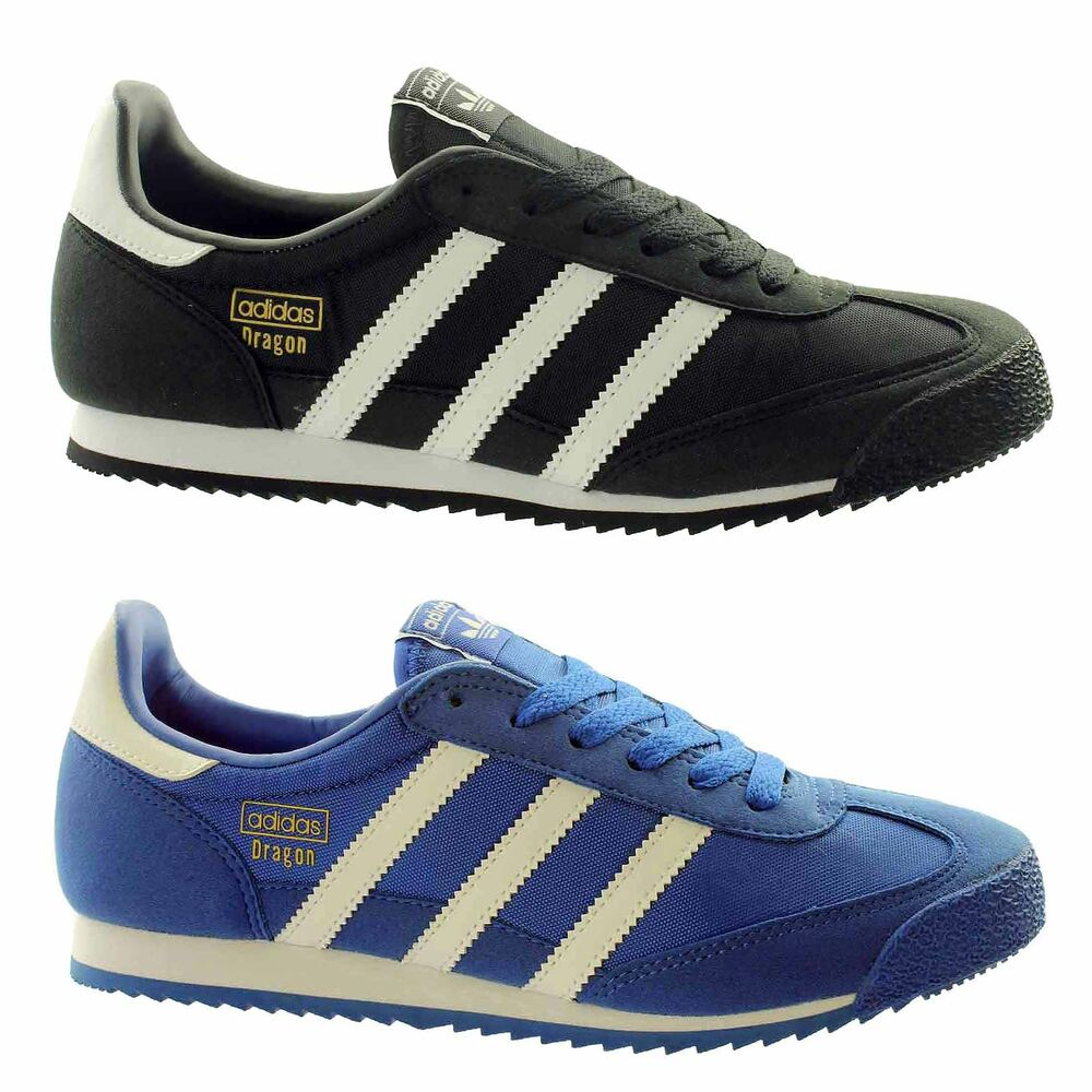4cf6a15a650 Details about adidas Dragon OG Junior Trainers~Originals~BLACK UK 4.5  ONLY~LAST PAIR