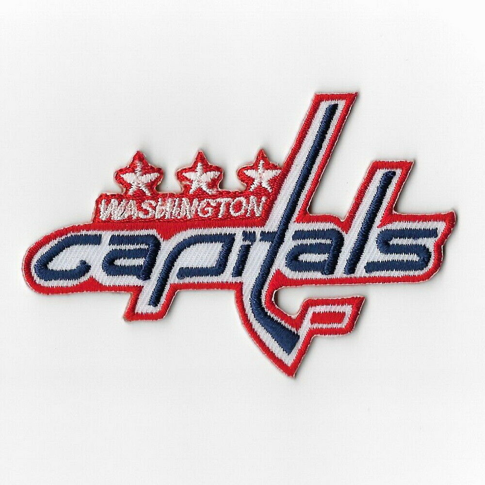 Details about NHL Washington Capitals Iron on Patches Embroidered Patch  Applique Badge Emblem 32bad969fd6