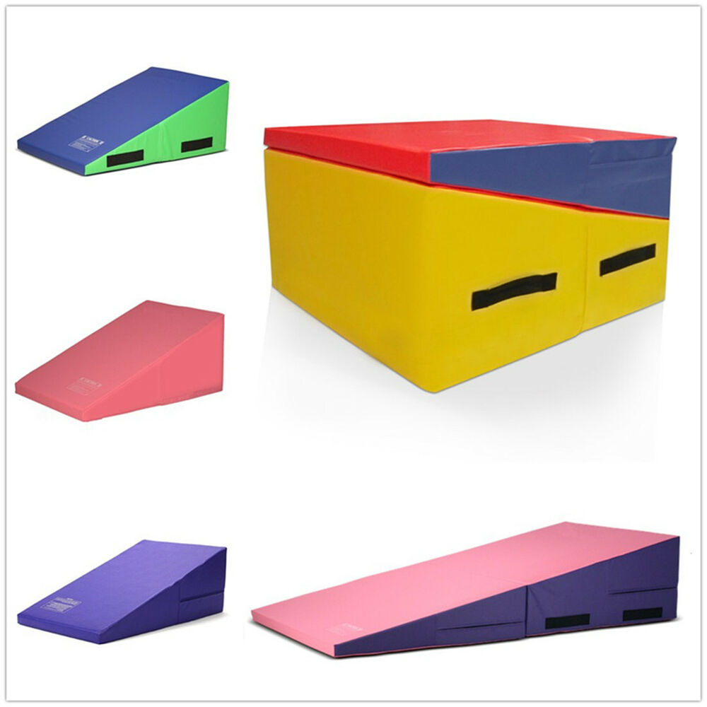 Large Incline Wedge Mat Ramp Cheese Gymnastics Tumbling