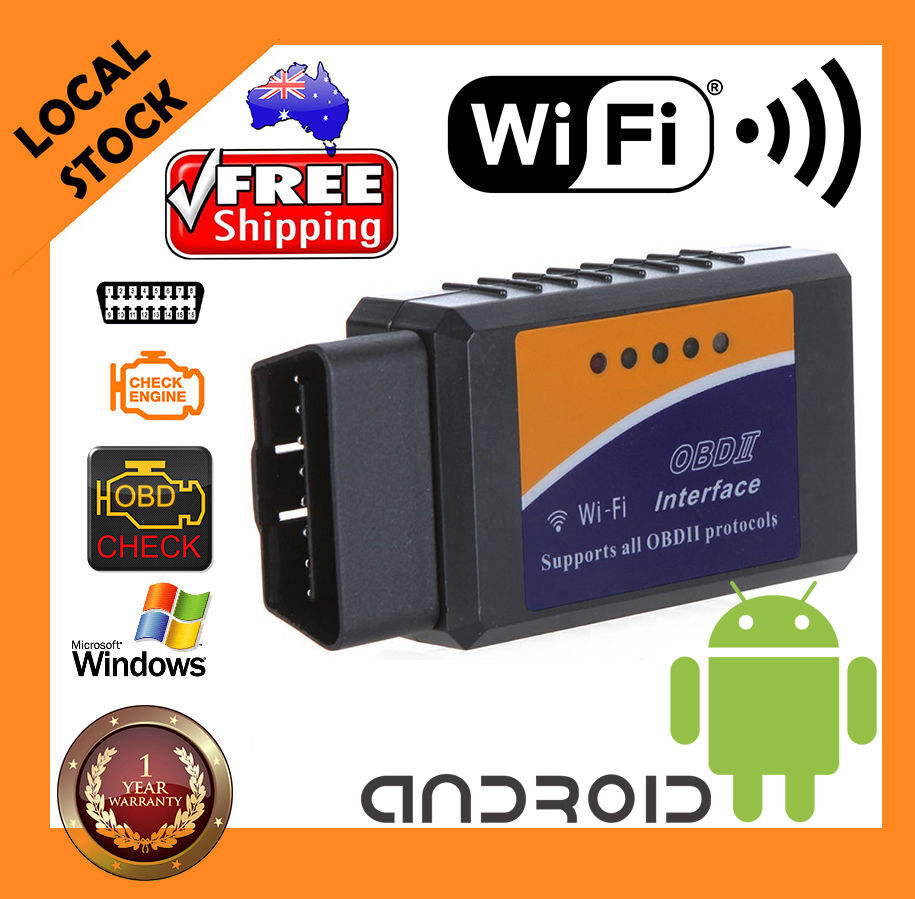 elm327 obdii obd2 wifi android car wireless can bus diagnostic scanner scan tool ebay. Black Bedroom Furniture Sets. Home Design Ideas