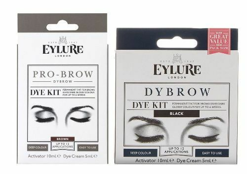 Eylure Dybrow Eyebrow Dye Kit Black Brown Ebay