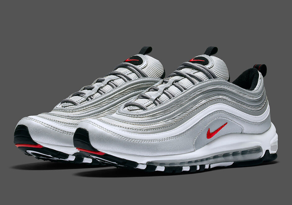 nike air max 97 og qs silver bullet men trainers sold out sizes ebay. Black Bedroom Furniture Sets. Home Design Ideas