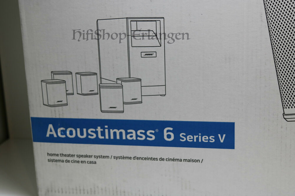 bose acoustimass 6 series v 5 1 heimkino lautsprecher. Black Bedroom Furniture Sets. Home Design Ideas