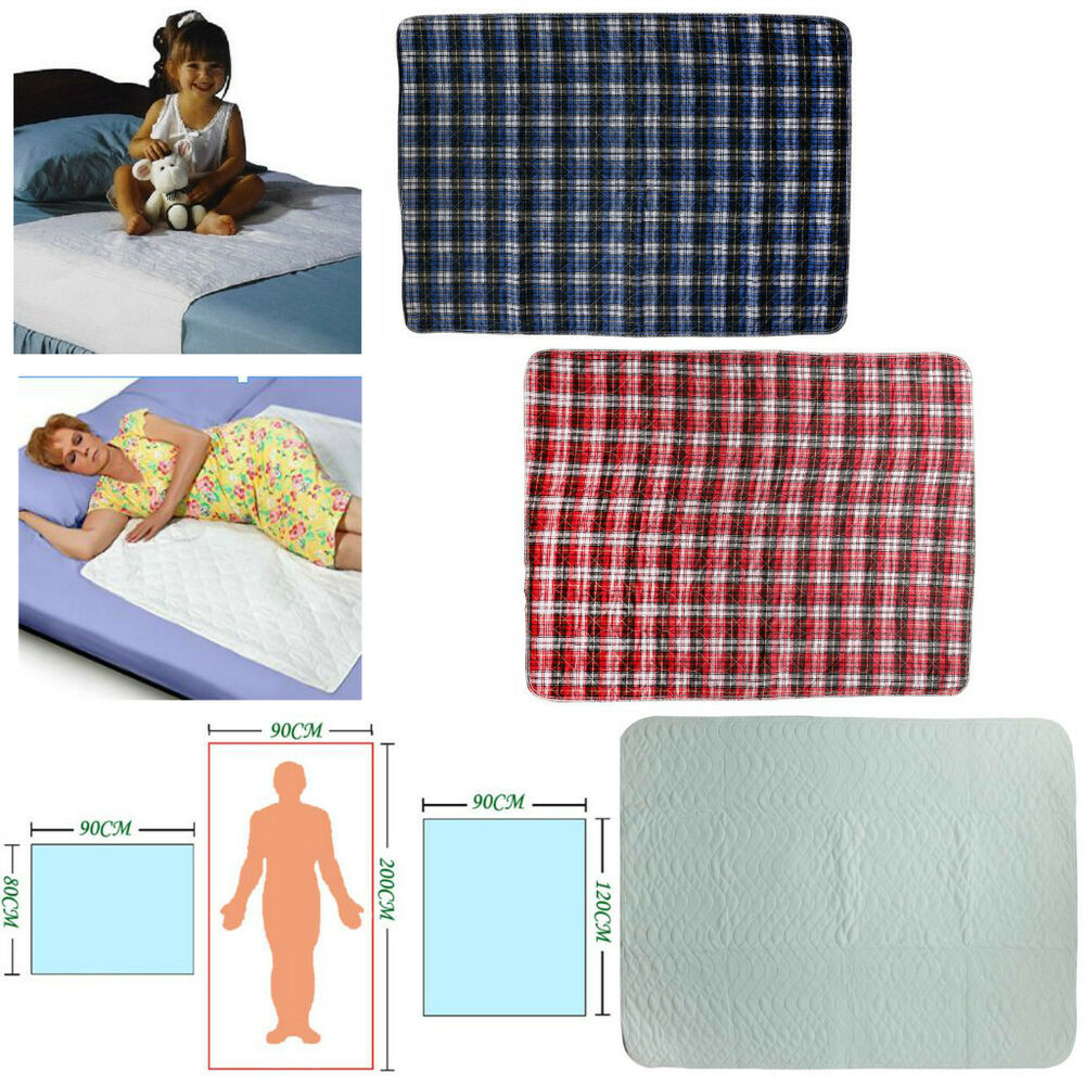 Washable Underpads Bed Reusable Pad Waterproof