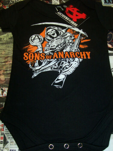 SONS OF ANARCHY REAPER ANARCHY BALL & RIFLE BABY GEAR OUTFIT NEW !