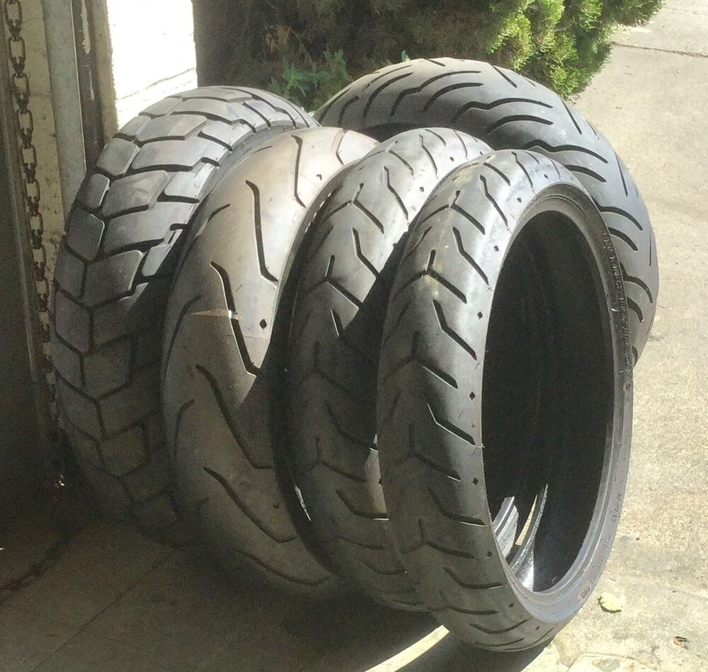 Harley Davidson Tires Take Offs Cheep Still Above Wear Bar Let Me Know What Size